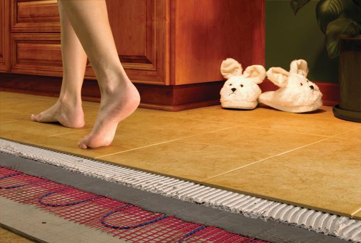 Теплый пол в вашем доме.