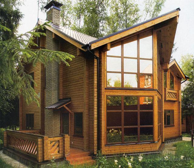 Утепление деревянного дома при обновлении фасада