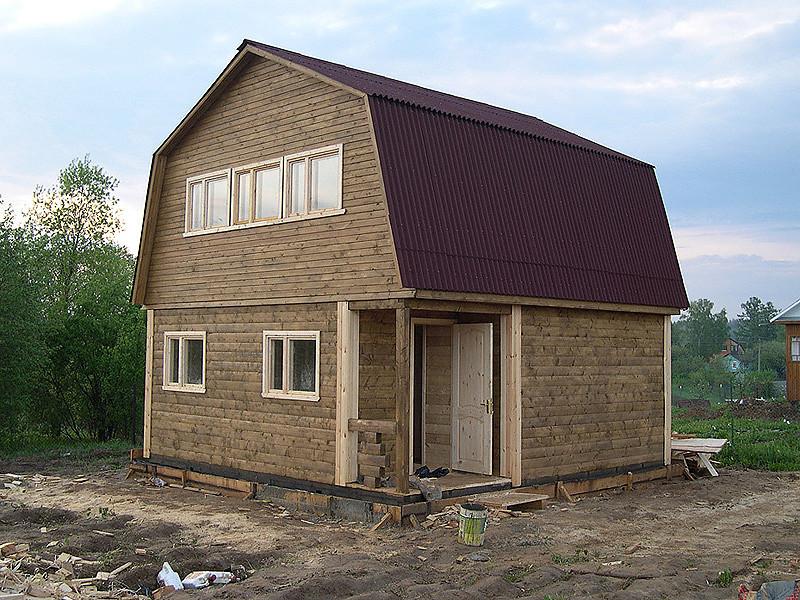 Отделка брусового дома внутри и снаружи
