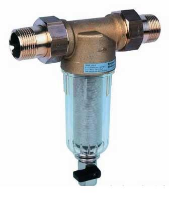 Водяной фильтр для механической очистки воды централизованного водоснабжения