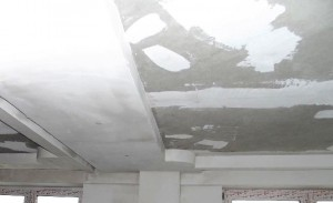 Обновляем потолок после потеков