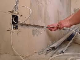 Варианты электропроводки до дома и в доме