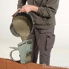 Приготовление раствора для кладки кирпича