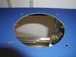 Как вырезать вентиляционное отверстие