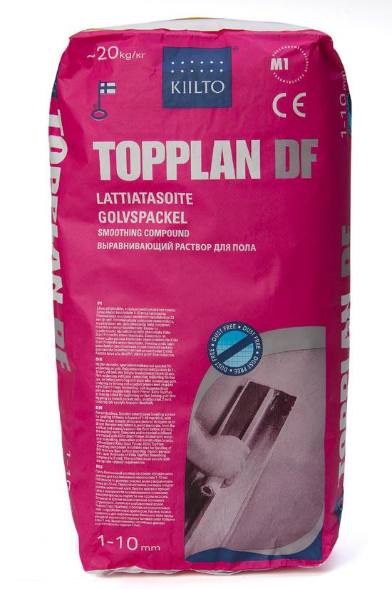 Выравнивающий раствор для пола KIILTO TOPPLAN DF (1-10 мм)