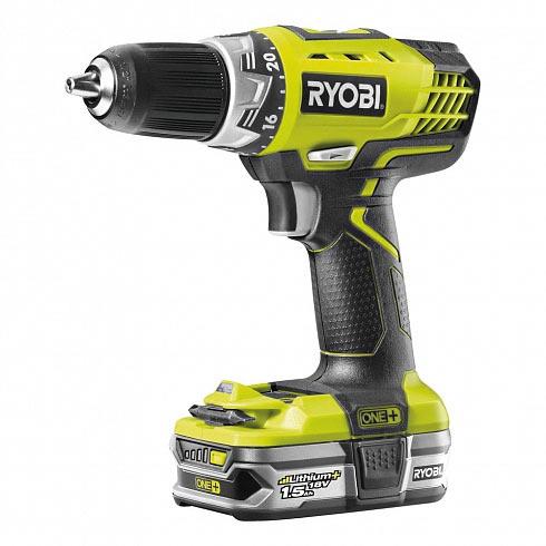 Ryobi RCD18021L - мощный шуруповерт на 18 вольт