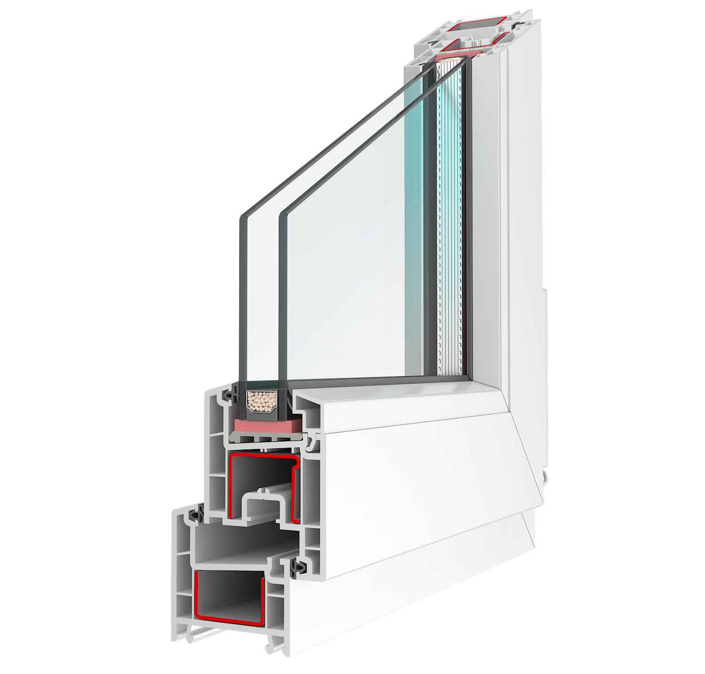 Окно BRUSBOX AERO в разрезе